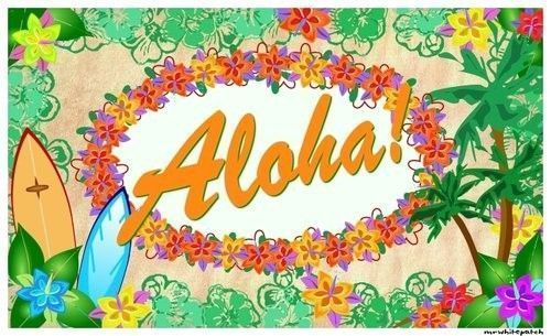 ... Clip Art together with Hawaiian Flower Clip Art. on aloha word clip