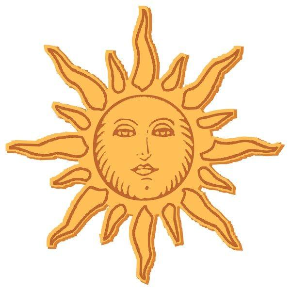 Soleil - Image soleil rigolo ...