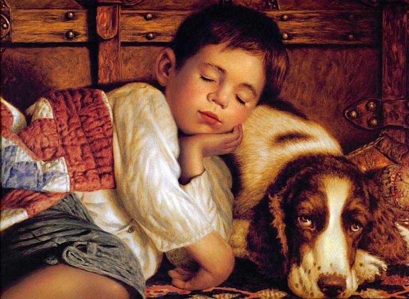 Enfant endormis
